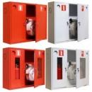 Шкаф пожарный 315-НЗК (навесной закрытый красный) 230Н*700*890