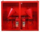 Щит пожарный закрытый ЩПЗ 1300*400*1000Н без инвентаря