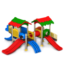 Пластмассовые детские игровые площадки